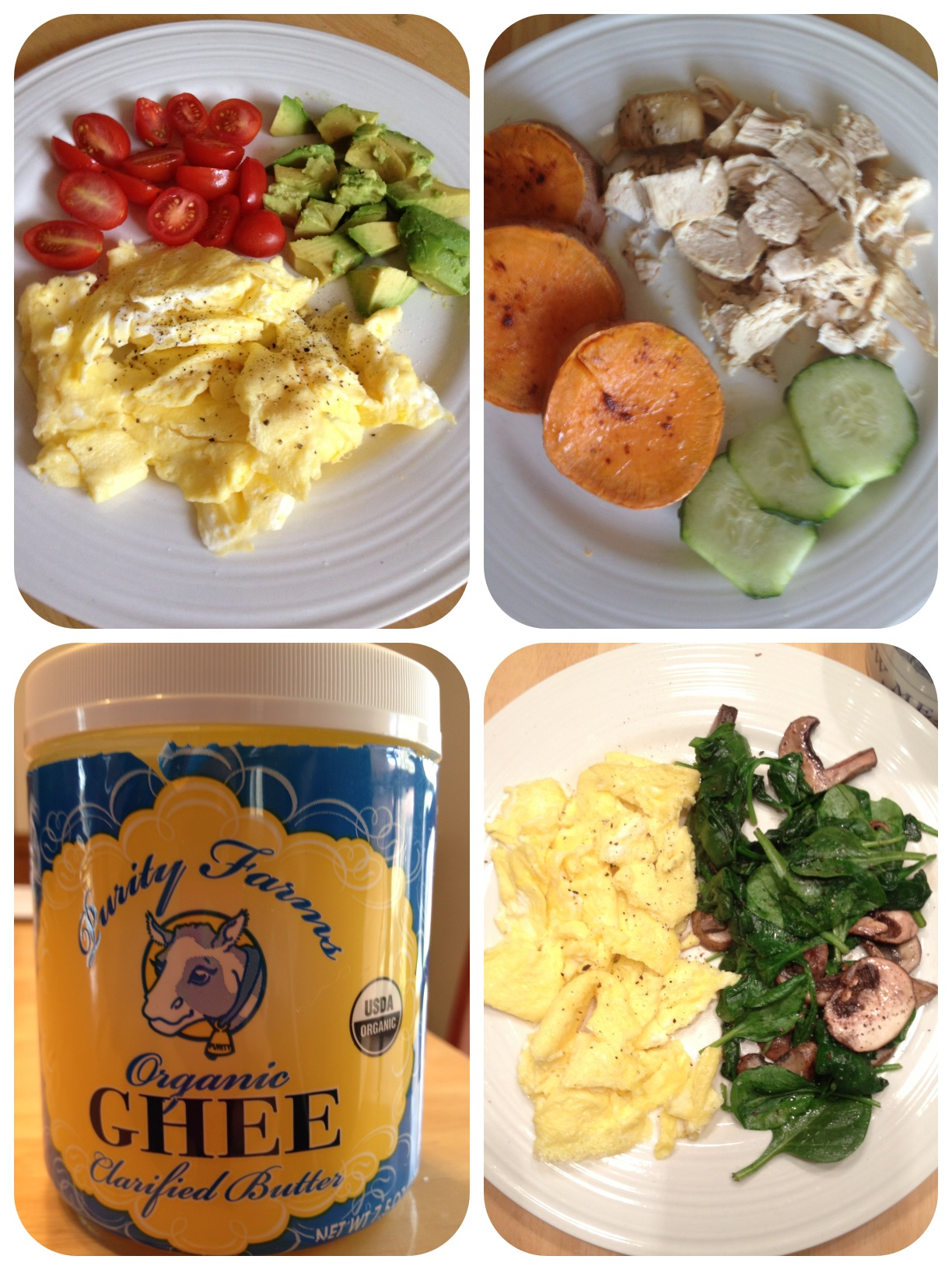 WHOLE 30:  DAY 1 & 2