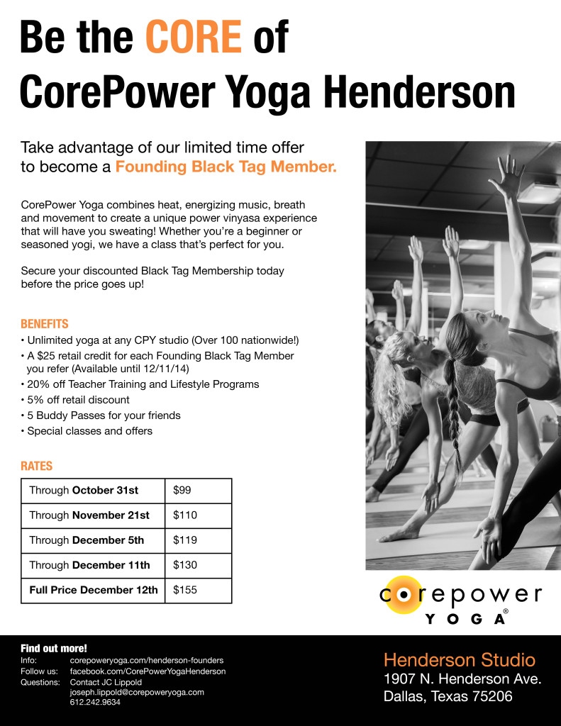 Core Power Yoga Henderson