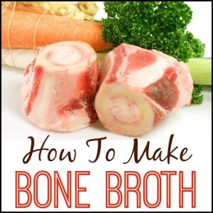 How To Make Bone Broth by KM FIT, Kristin Moses