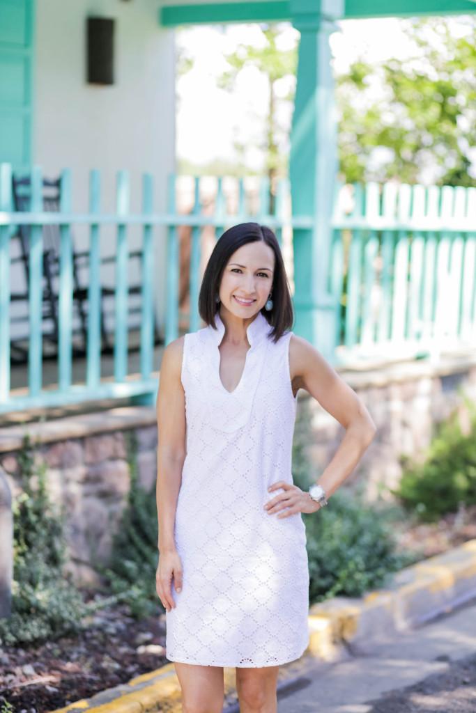 White Dress | Saint Bernard | Dallas | Taos