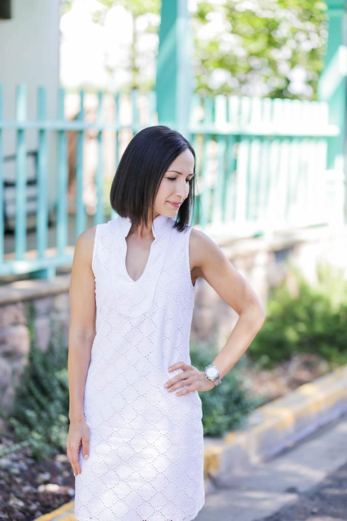 White Dress | Saint Bernard | Dallas
