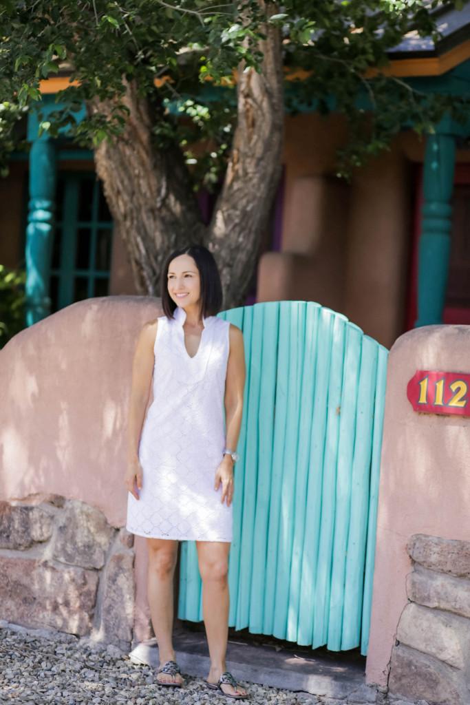 White Dress | Sail to Sable | Saint Bernard