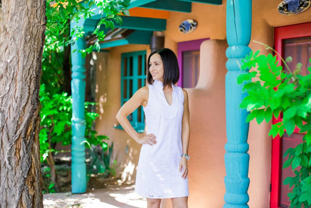 Sail to Sable | White Dress | Taos