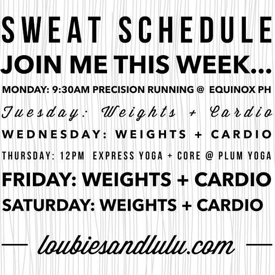 Sweat Schedule | Plum Yoga | Equinox