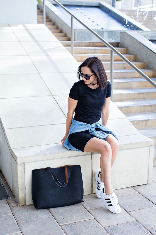 The $15 Tee Shirt Dress | Capsule Wardrobe Essential