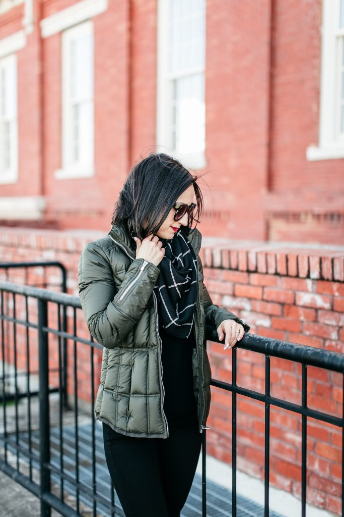 How to style a down jacket