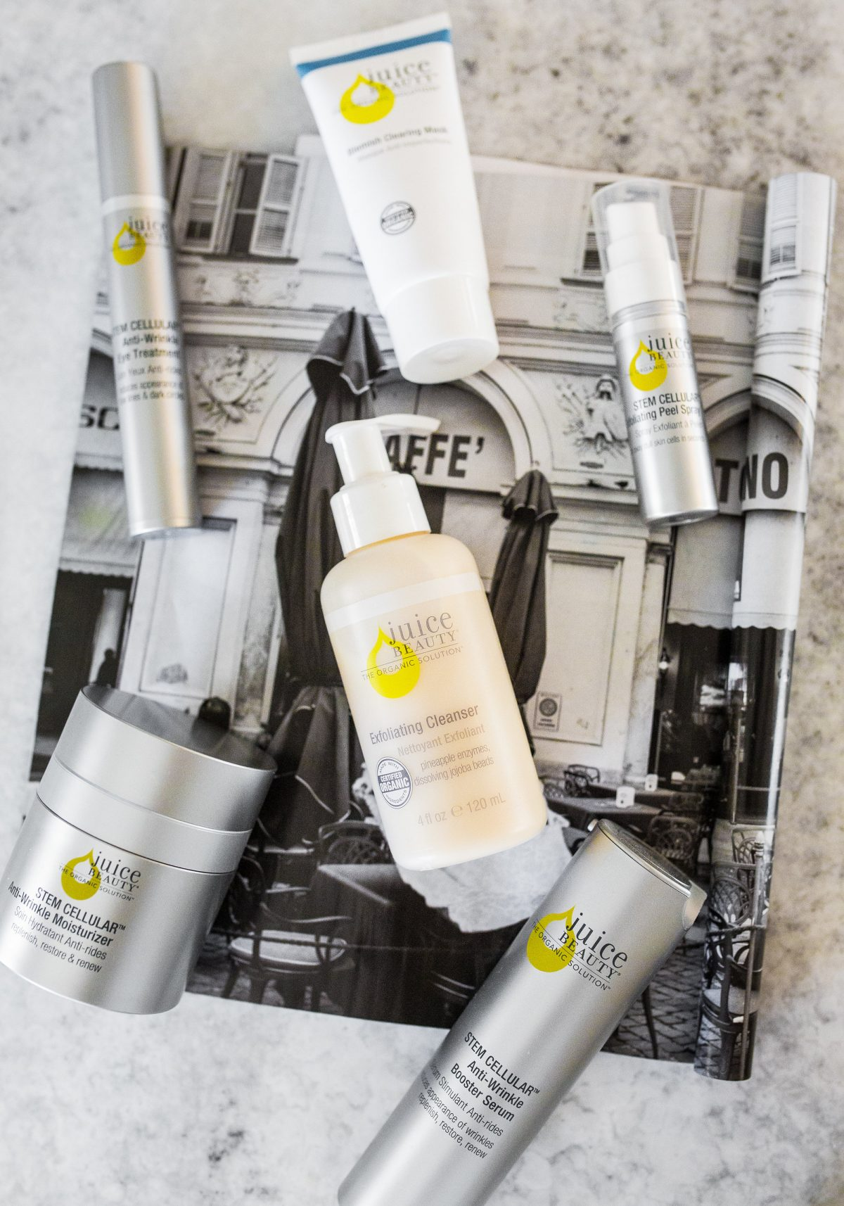Favorite products from Juice Beauty Organic Skincare line