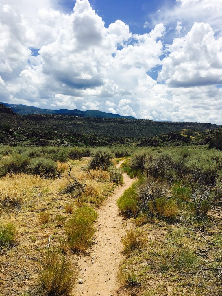 Heritage Inspirations Tours | Taos New Mexico Hiking on the La Vista Verde Trail in Rio Grande Del Norte National Monument