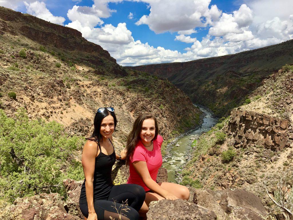 Taos New Mexico Hiking on the La Vista Verde Trail in Rio Grande Del Norte National Monument