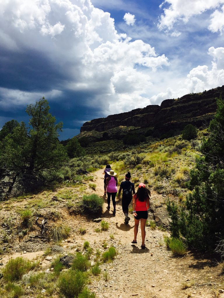 Heritage Inspiration Tours with Angelisa Espinoza | Taos New Mexico Hiking on the La Vista Verde Trail in Rio Grande Del Norte National Monument