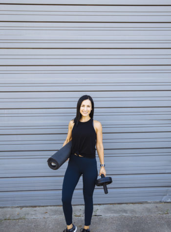 lululemon train times leggings / Core Workout / The Move Project