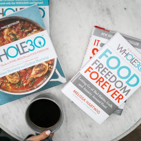 The Whole30 and Food Freedom Forever are two must-read books for anyone wanting to create healthy habits and a better relationship with food!