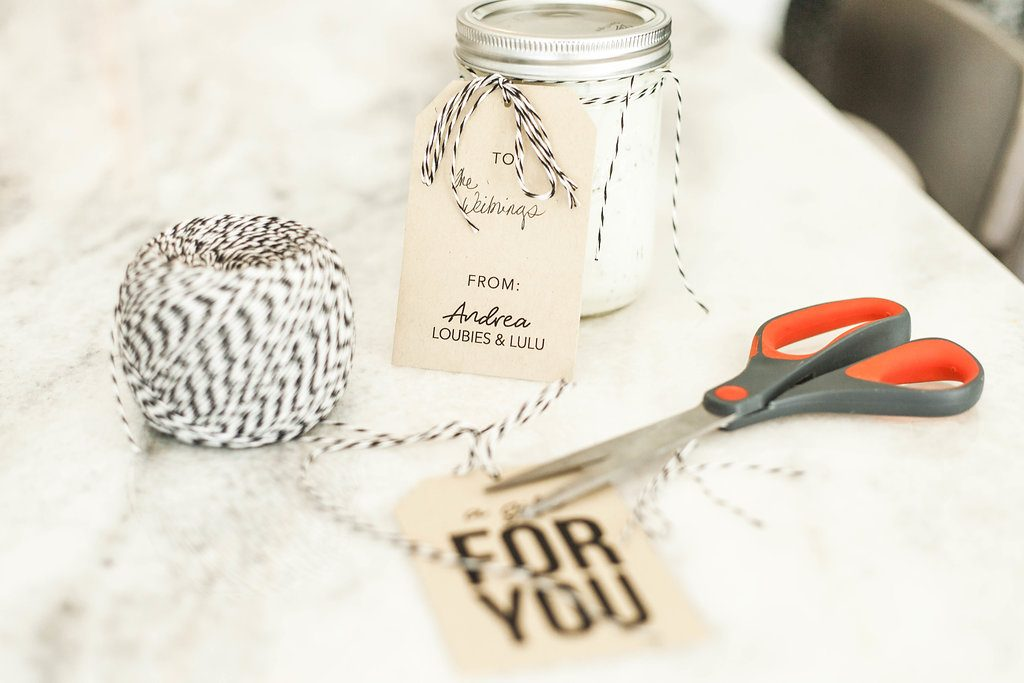 Whole30 Food Gifting, Joy Creative Shop Gift Tags