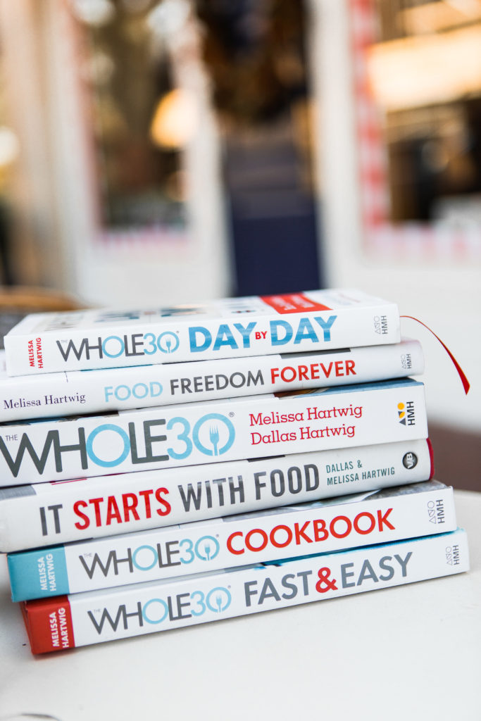 Whole30 books, January Whole30