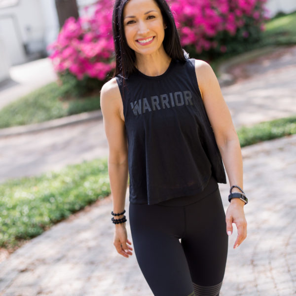 Whole30 Coach, Dallas Duo, Lilybod Leggings, Spiritual Gangster Tank at Nordstrom