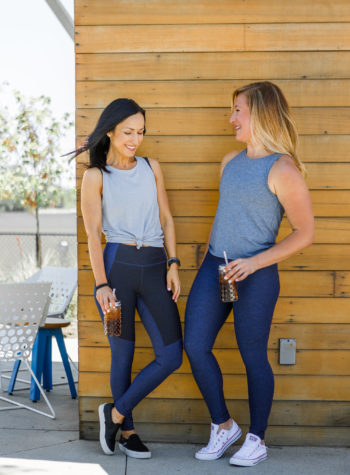 Whole30 Dallas Duo Coaching, outdoor voices leggings and tank tops