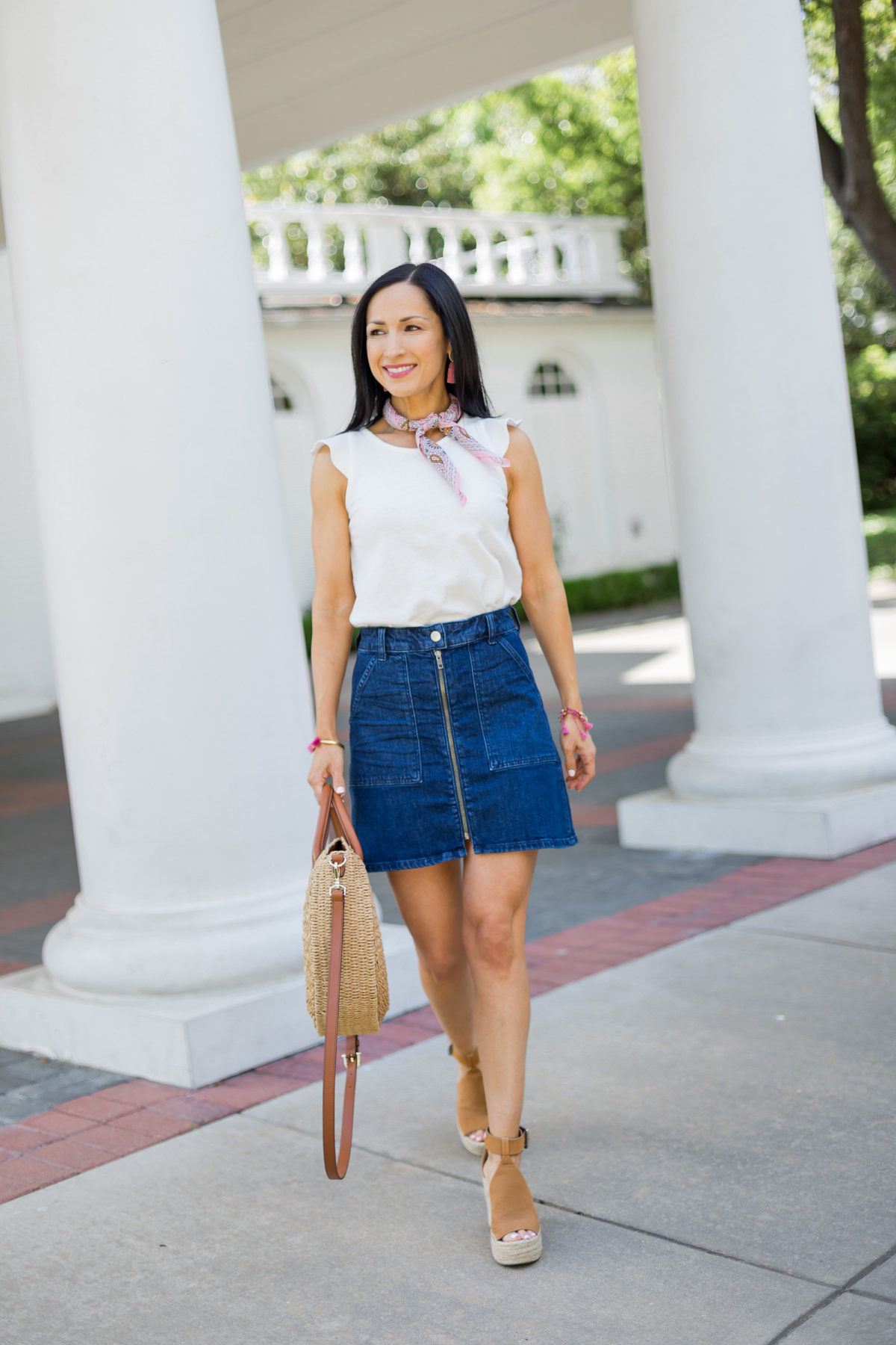 The Denim Skirt You'll Want This Season!