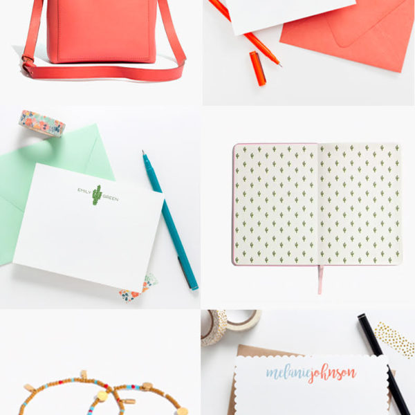 Joy Creative Shop Madewell Inspired Stationery Collection