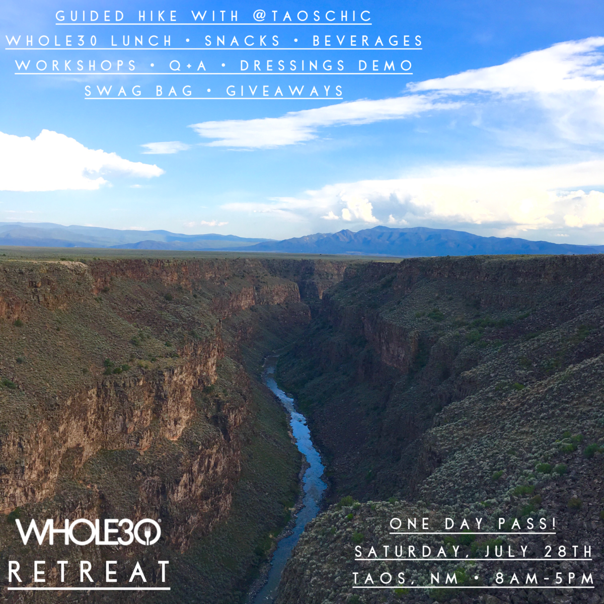 Taos Whole30 Retreat
