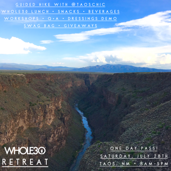 Taos Whole30 Retreat