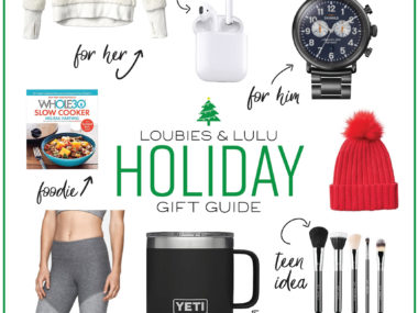 Loubies and Lulu Holiday Gift Guide Gift Ideas