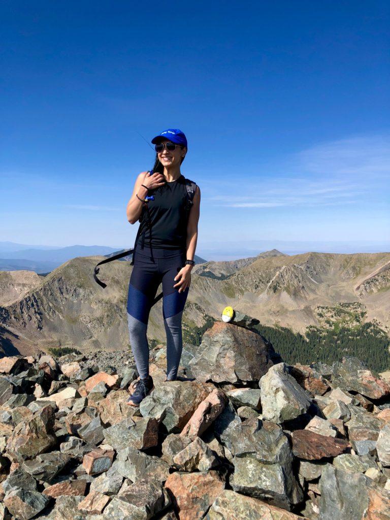 Hiking Wheeler Peak (highest point in NM) in Taos Ski Valley