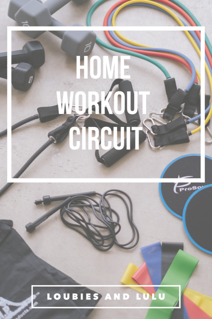 home and travel workout circuit with Walmart