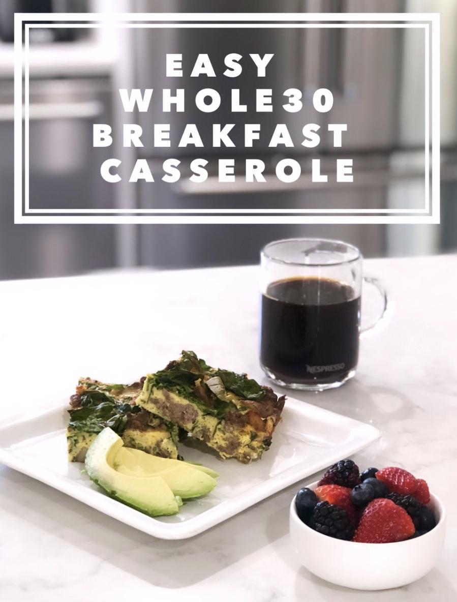 Whole30 Breakfast Casserole