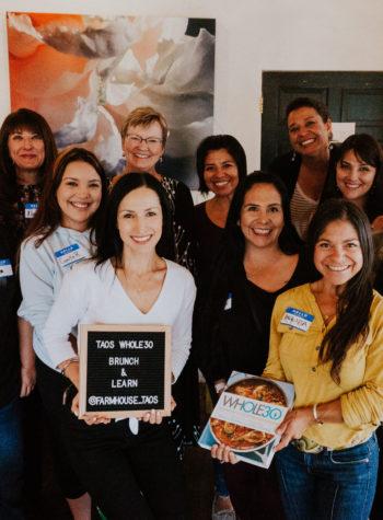 Taos Whole30 Workshop at Farmhouse Cafe