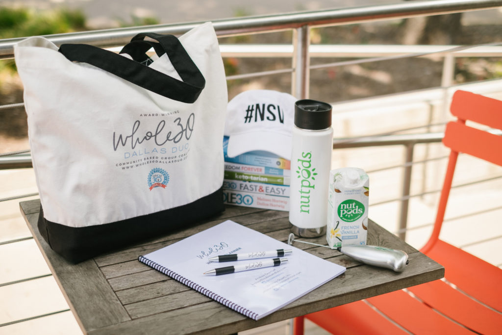 Whole30 Dallas Duo Spring Workshop sponsored by nutpods