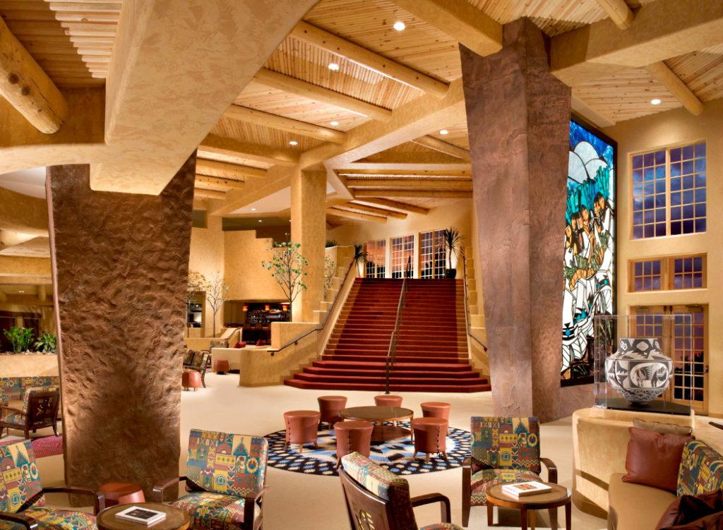 Hilton Santa Fe Lobby