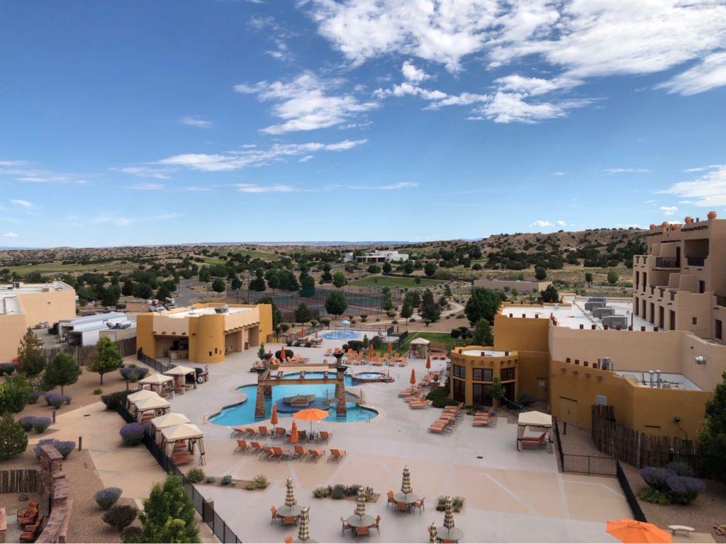 Hilton Santa Fe Buffalo Thunder Pool