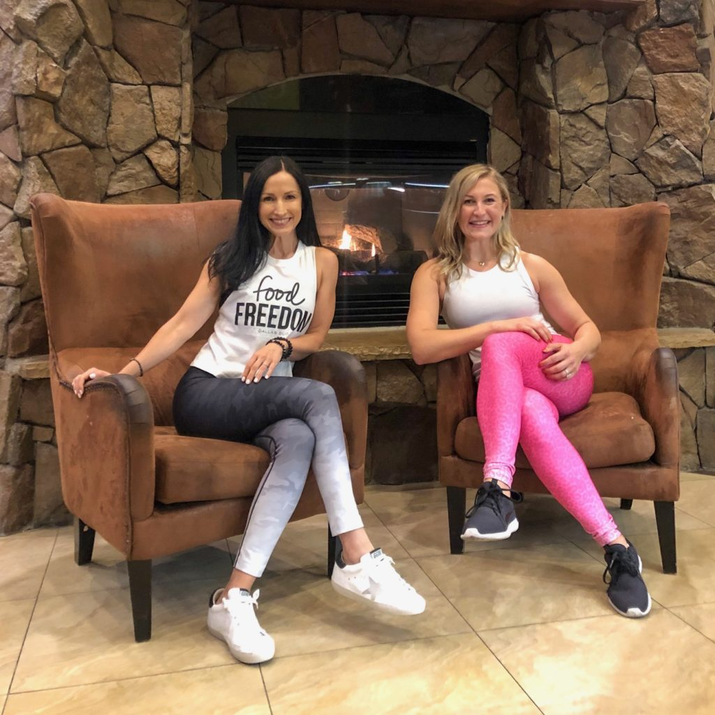 Dallas Duo Whole30 Coach Summit in Park City, Utah wearing Carbon38