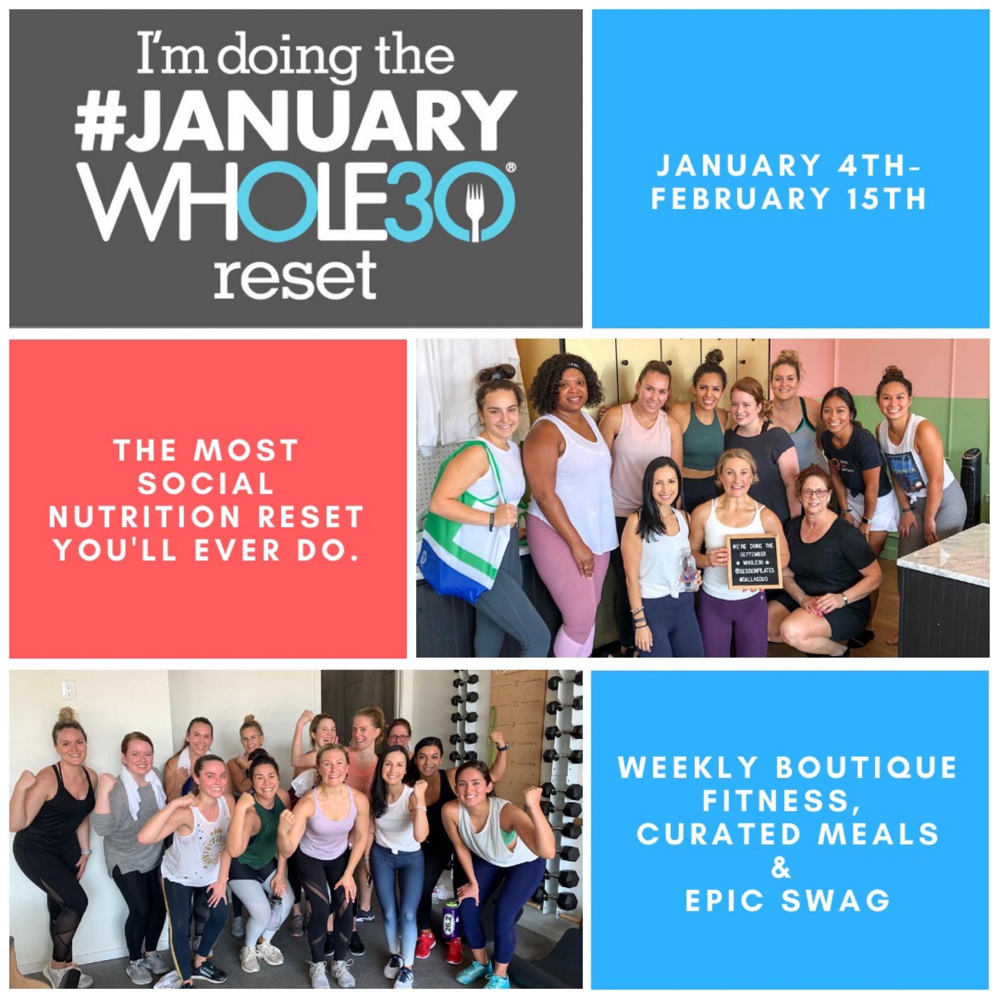 January Whole30 Dallas Duo Coaching