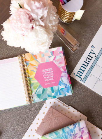 Erin Condren Home office