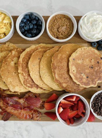 Gluten Free Pancake Board