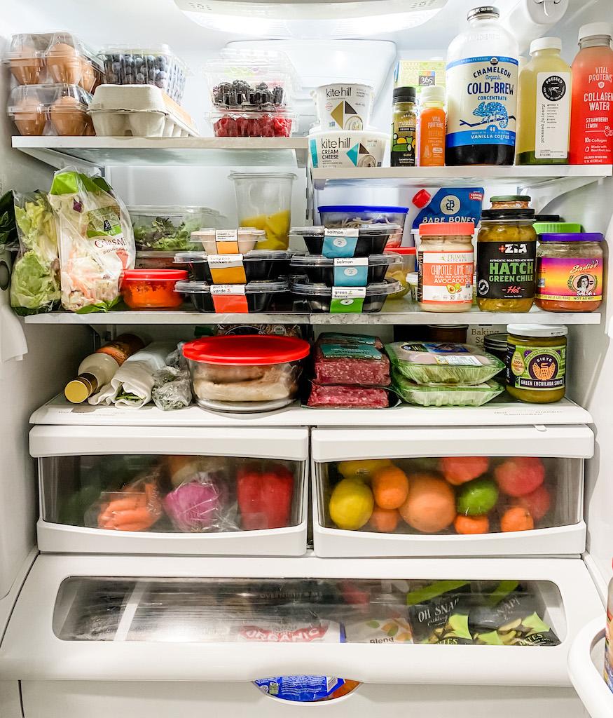 Whole30 Fridge and Freezer Guide