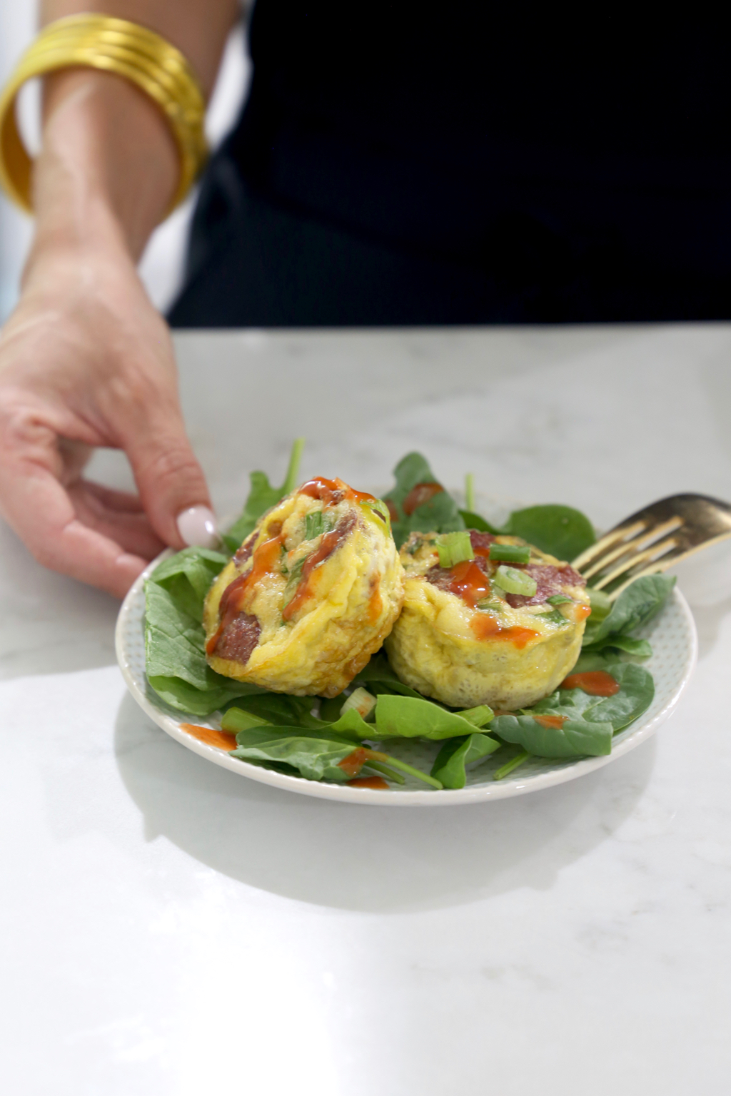 Easy Whole30 Sausage and Egg Muffins with Teton Waters Ranch Sausage and Vital Farms Eggs