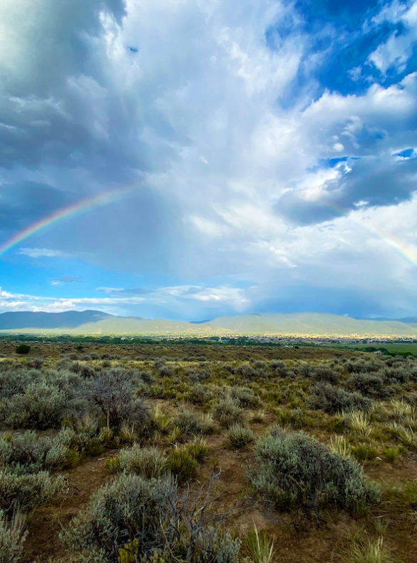 Taos Mesa Rainbow