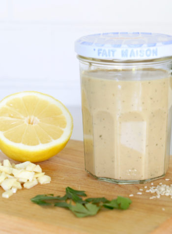 Whole30 Tangy Sesame Tahini Dressing