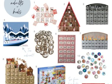 Advent Calendar Gift Guide, Favorite Family Traditions