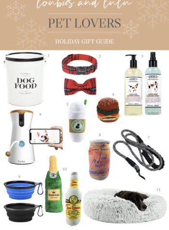 Gifts for dogs and pet lovers