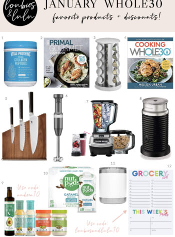 January Whole30 Favorite Product Picks