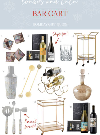 Wine and Cocktail Lovers Gift Guide