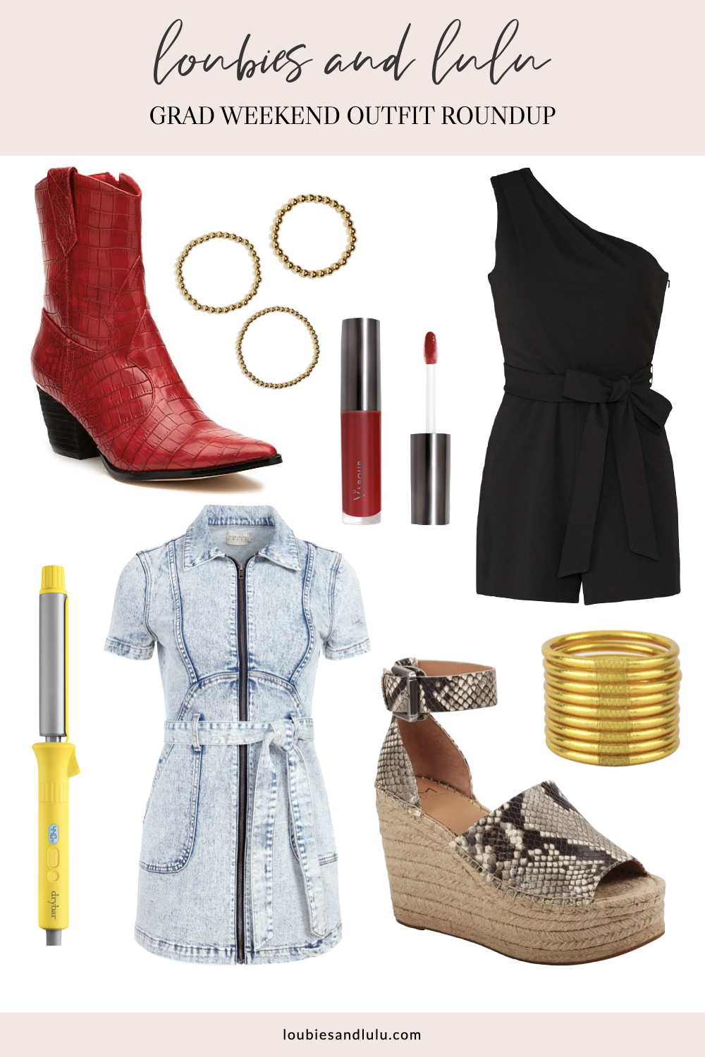 Graduation party outfit, what to wear to casual graduation party