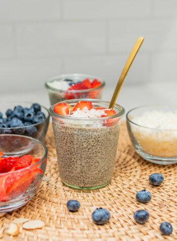 Natural Delights Medjool Dates Collagen Chia Pudding