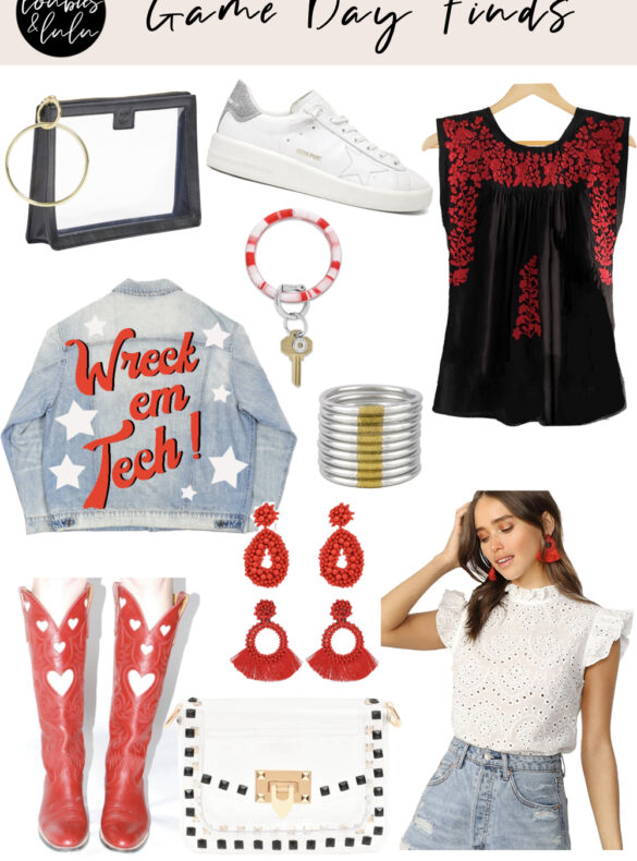 gameday tailgate outfit ideas